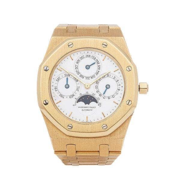 Audemars Piguet Royal Oak Perpetual Calendar MKI Dial 18K Yellow Gold - 25554BA