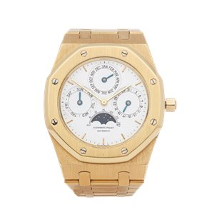 Audemars Piguet Royal Oak Perpetual Calendar MKI Dial 18K Yellow Gold - 25554BA