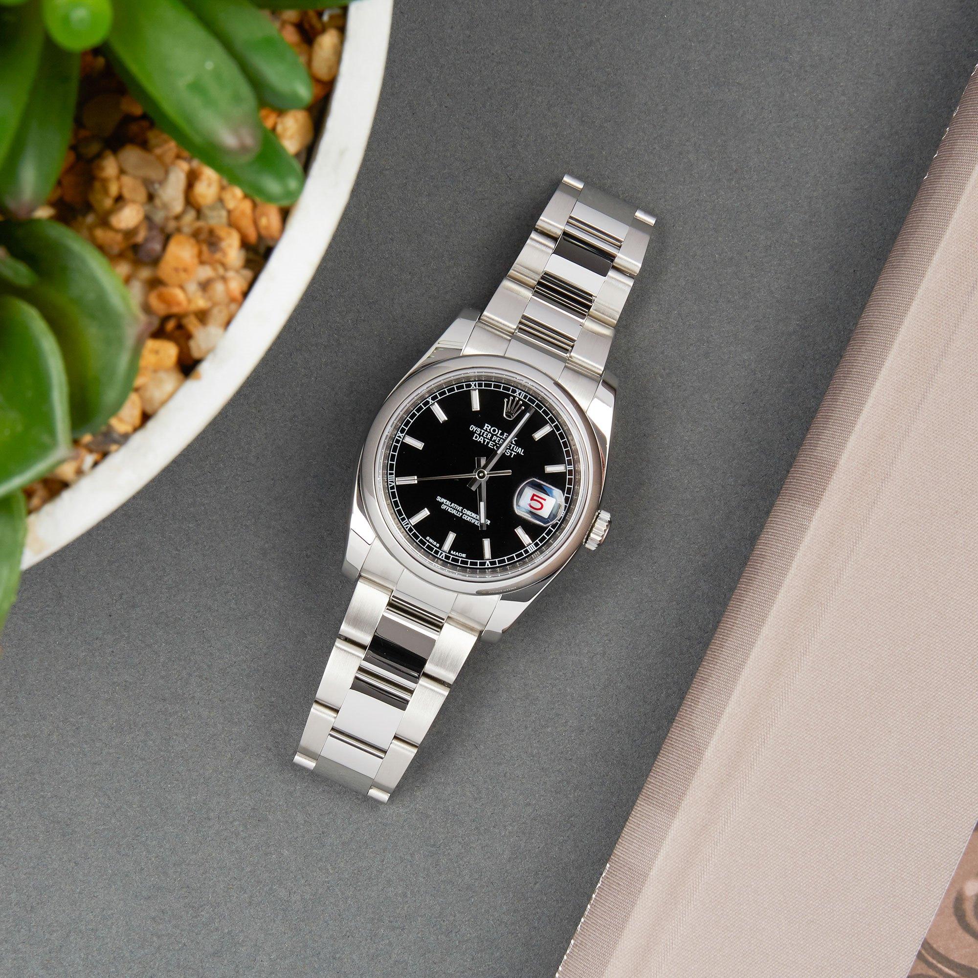 Rolex Datejust 36 Stainless Steel 116200
