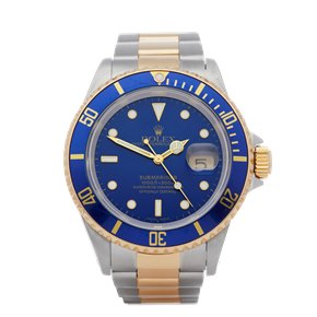Rolex Submariner Date Stainless Steel & Yellow Gold - 16613