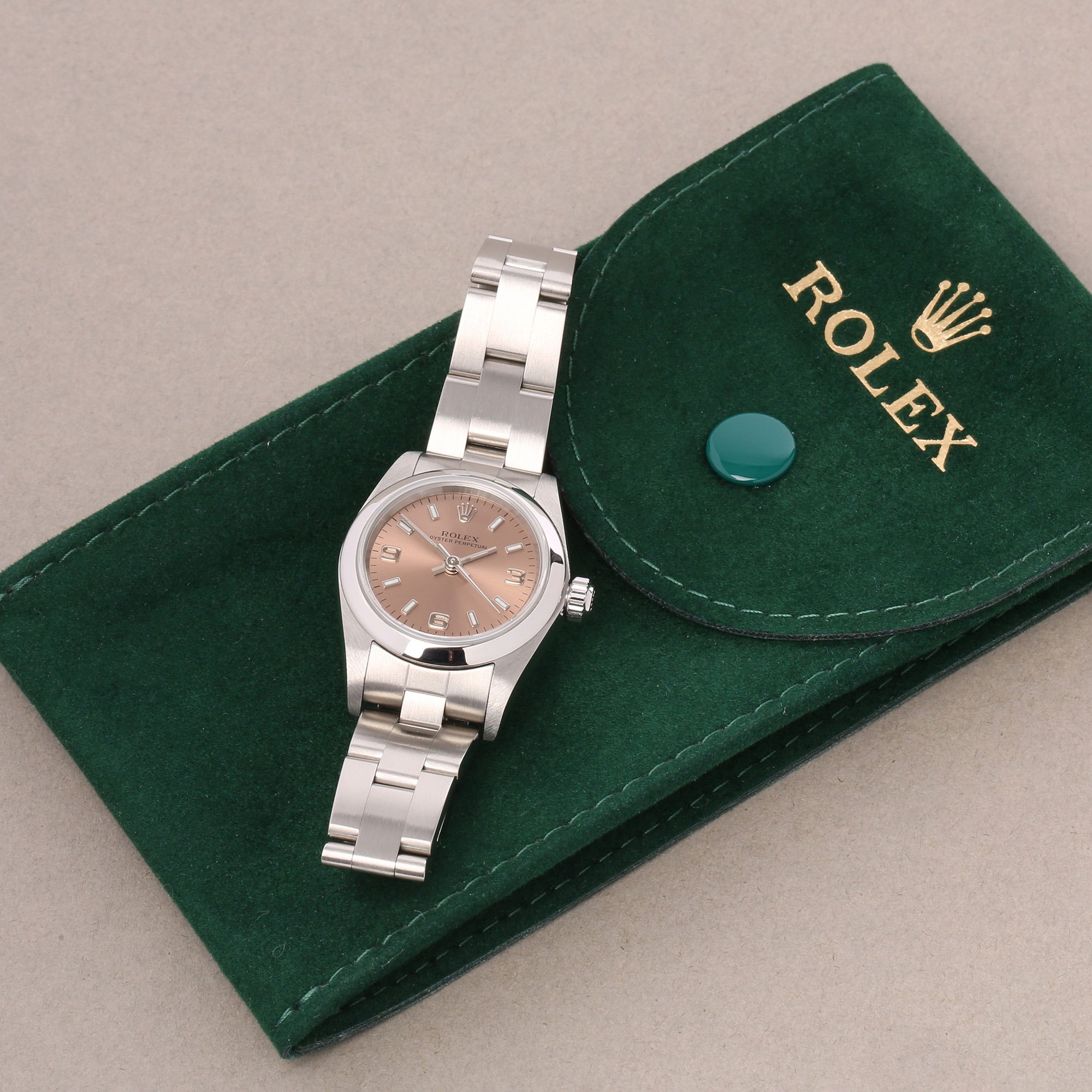 Rolex Oyster Perpetual 24 Stainless Steel 76080