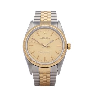 Rolex Oyster Perpetual 34 18K Yellow Gold & Stainless Steel - 14233