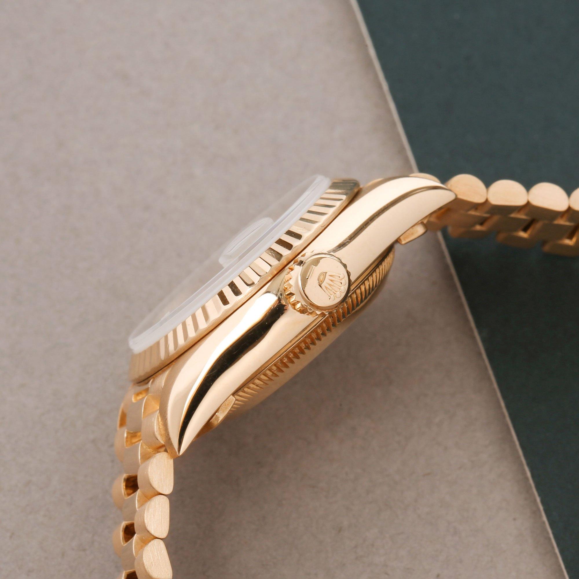 Rolex Datejust 26 Diamond 18K Geel Goud 69178G
