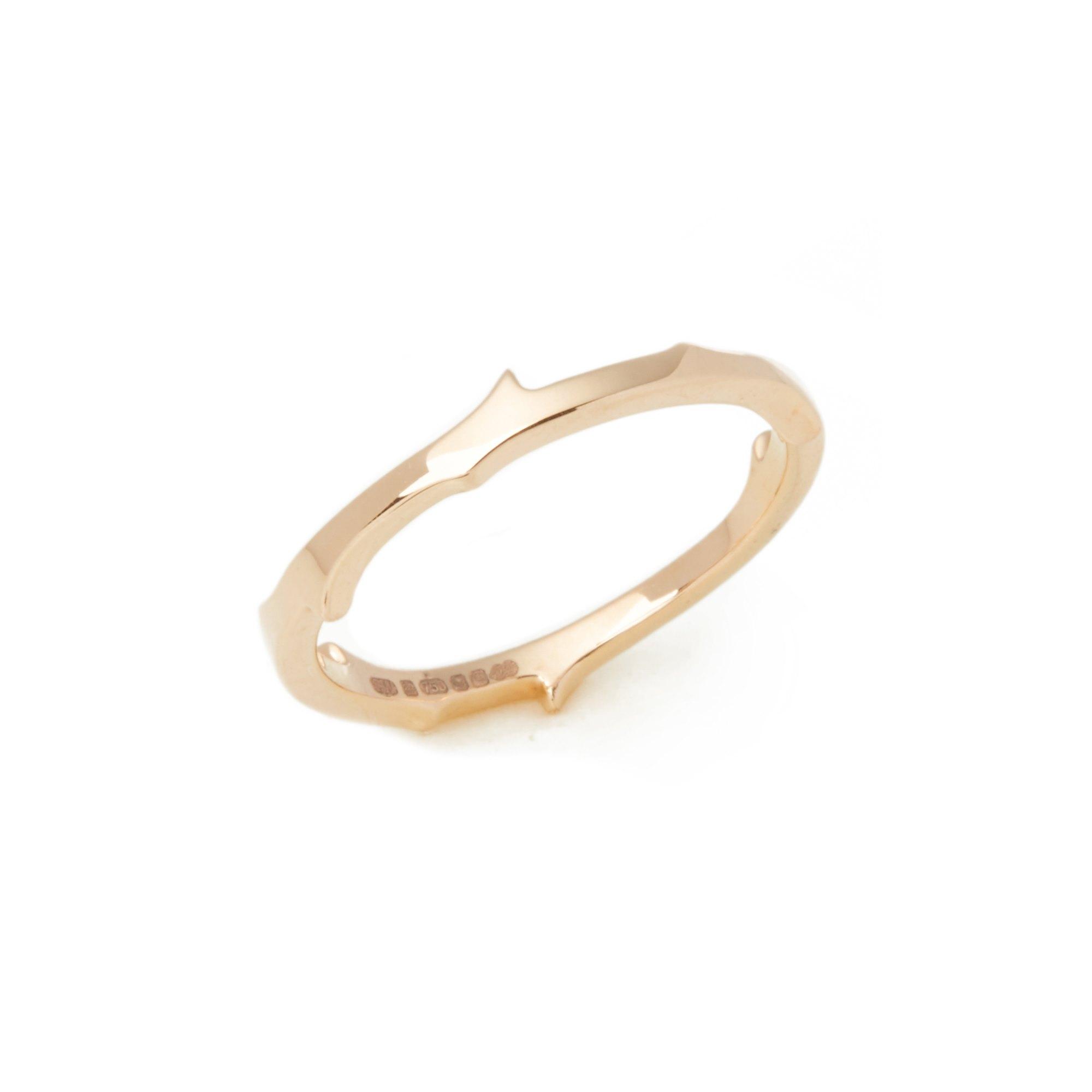 Stephen Webster 18k Rose Gold Thorn Ring