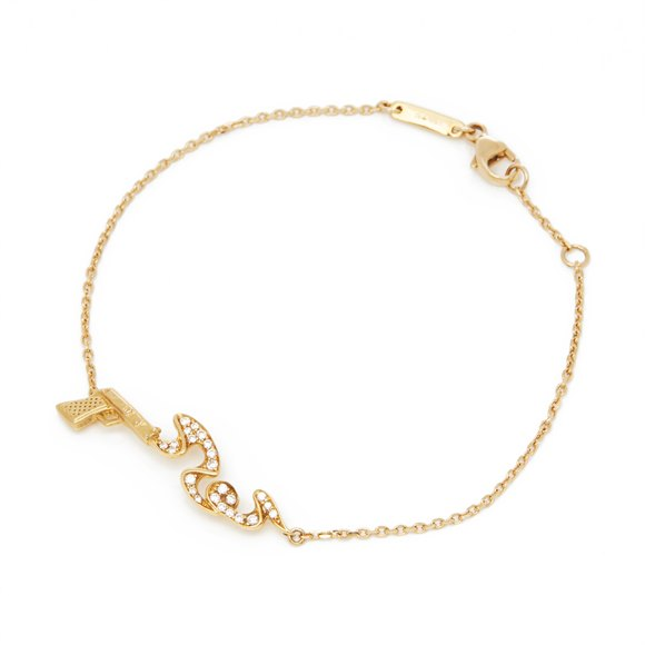 Stephen Webster 18k Yellow Gold Murder She Wrote Bracelet