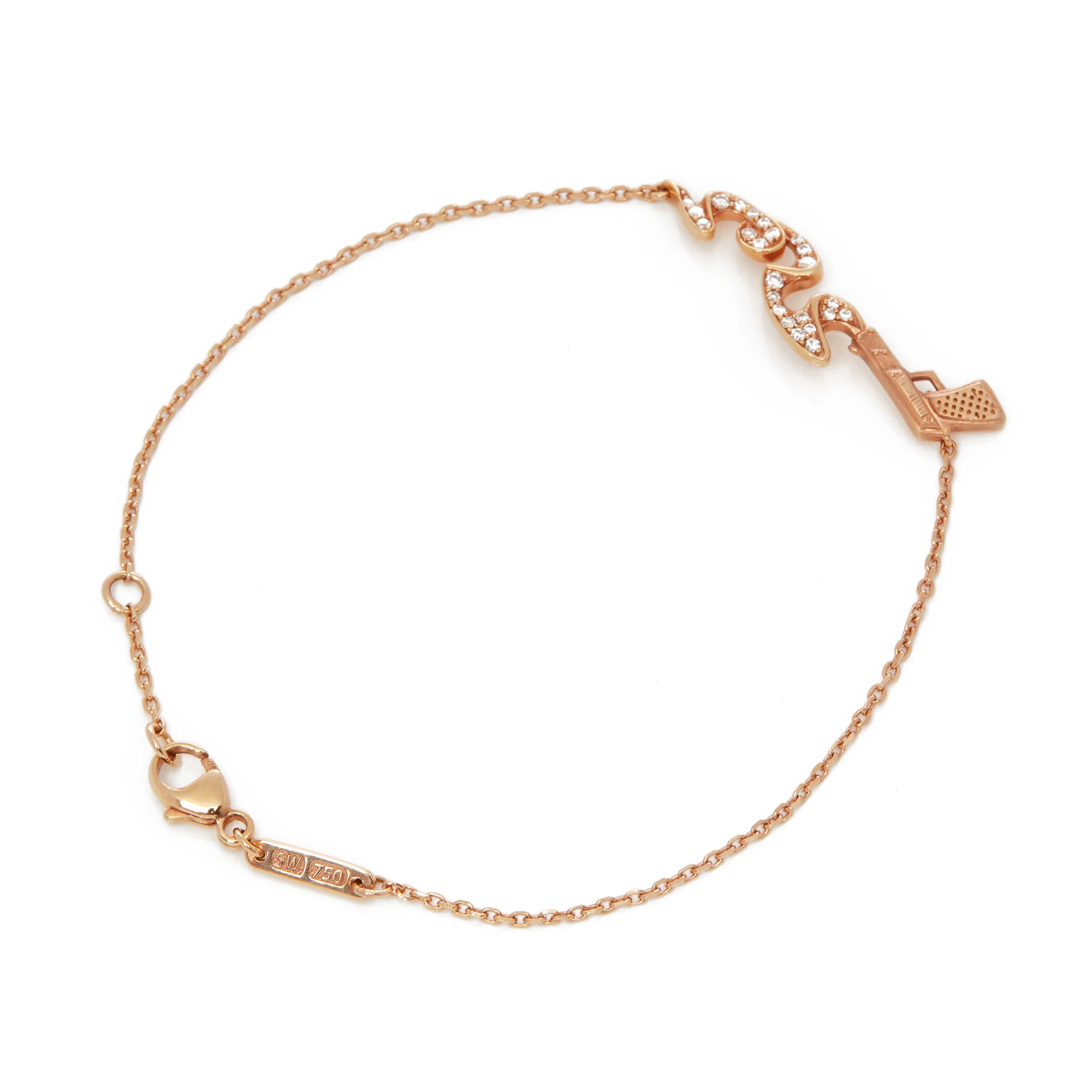 Stephen Webster 18k Rose Gold Murder She Wrote Bracelet