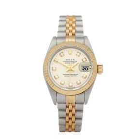 Rolex Datejust 26 Diamond Stainless Steel & Yellow Gold - 69173G