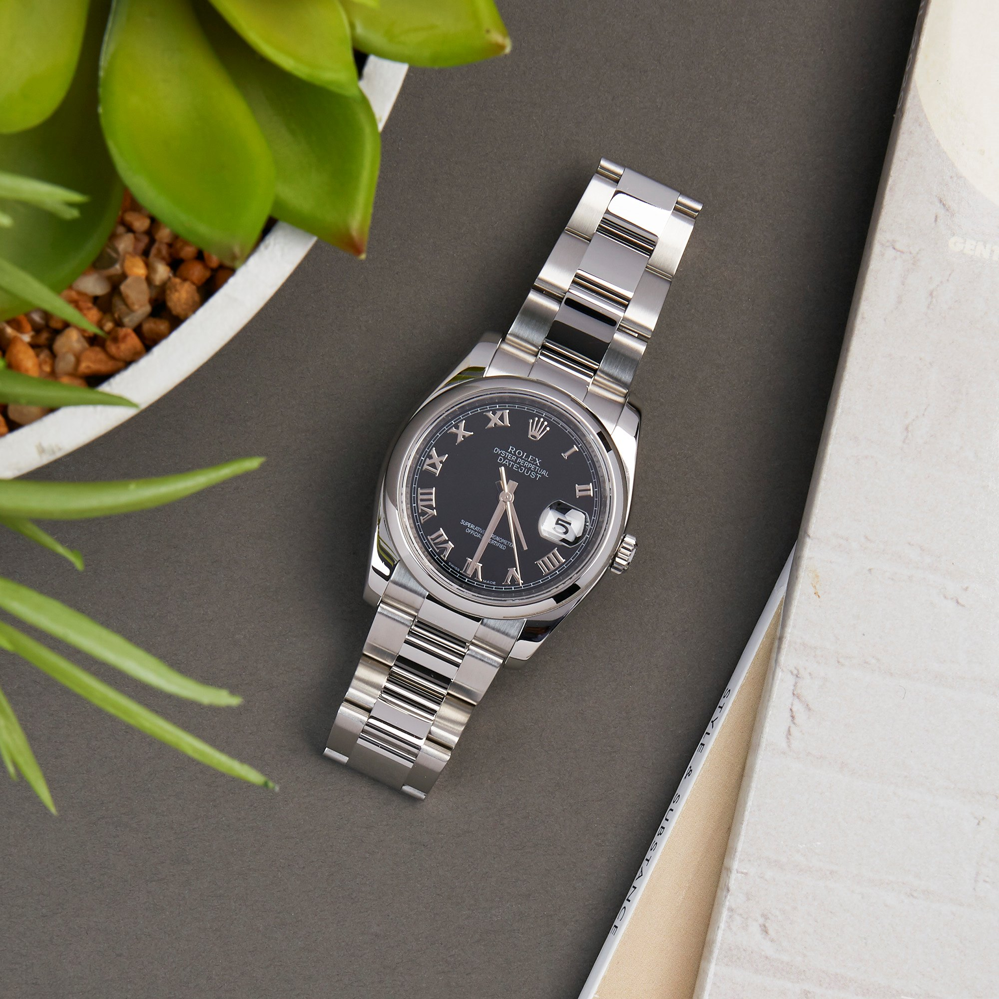 Rolex Datejust 36 Stainless Steel 116200