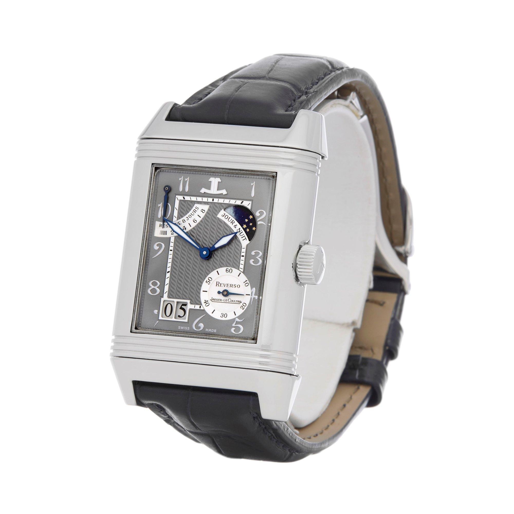 Jaeger-LeCoultre Reverso SEPTANTIEME Limited Edition of 500 Platinum - Q3006420 Platinum Q3006420
