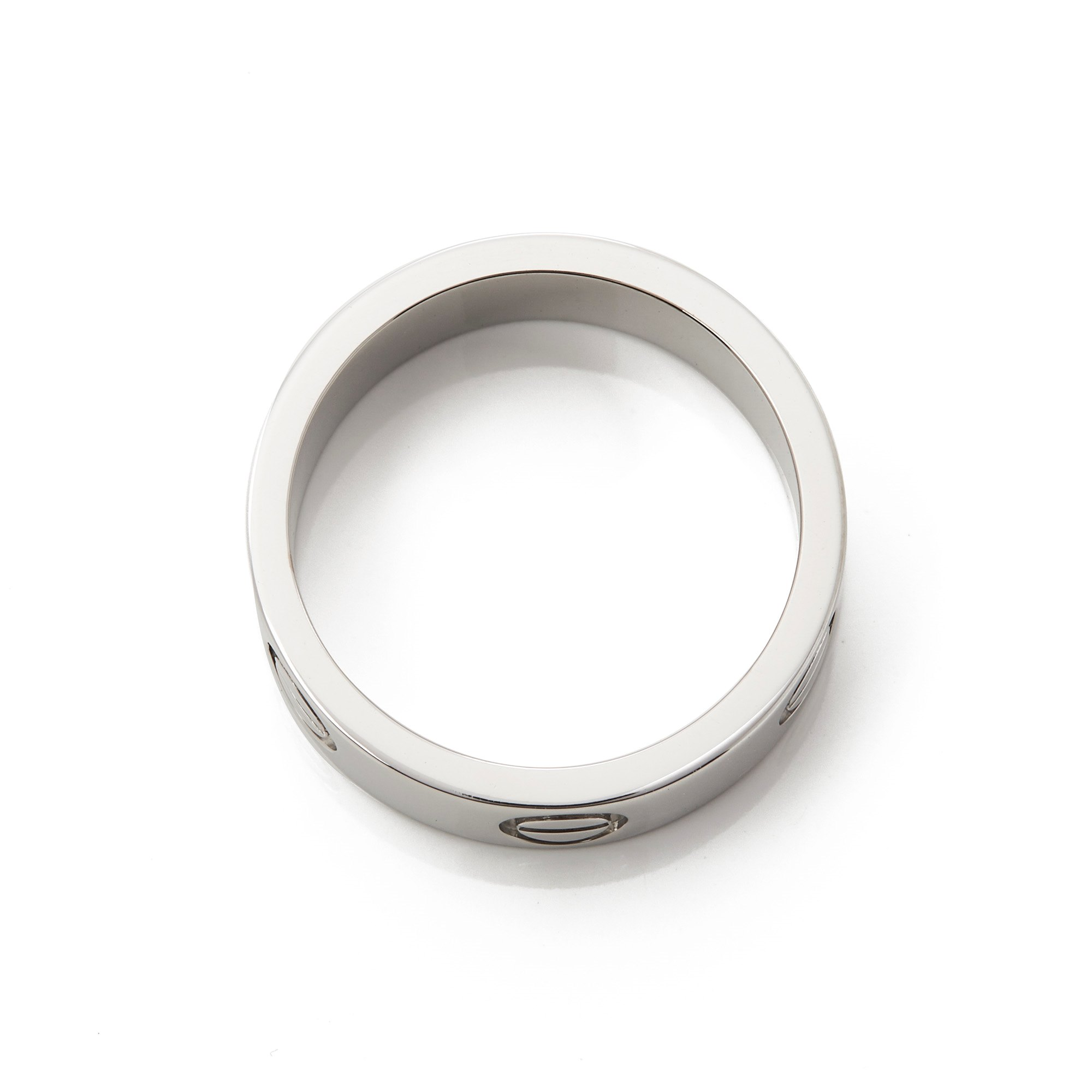 Cartier Platinum Love Ring