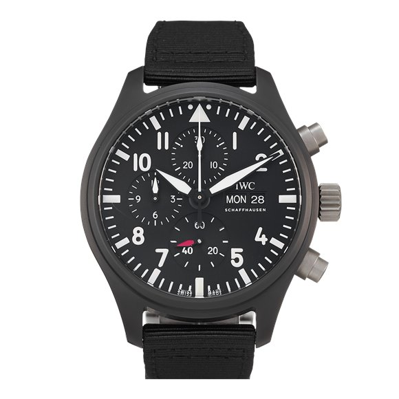 "IWC Pilot's Watch Chronograph Top Gun ""SIHH 2019"" Ceramic - IW389101"