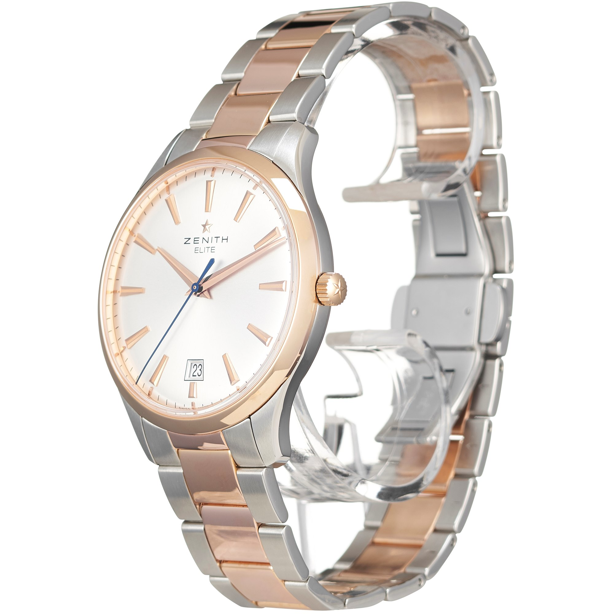Zenith Captain Central Second Stainless Steel & Rose Gold 51.2020.670/01.M2020