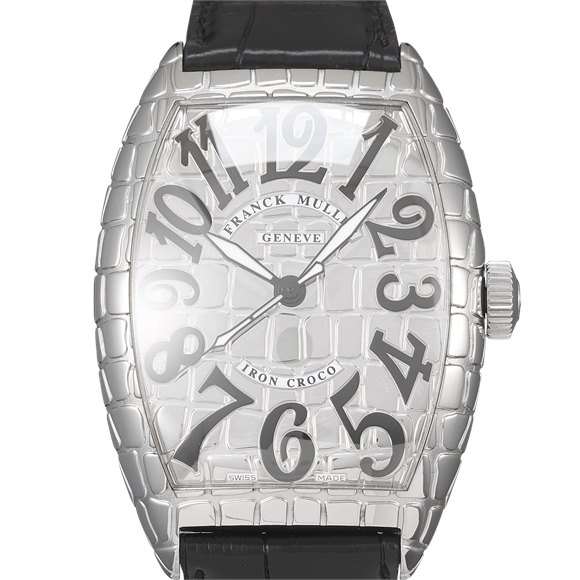Franck Muller Cintrée Curvex Stainless Steel - 8880SC IRON CRO
