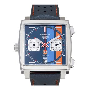 Tag Heuer  Calibre 11 Automatic Chronograph Gulf Special Edition Roestvrij Staal