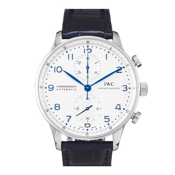 IWC Portugieser Chronograph Stainless Steel - IW371446