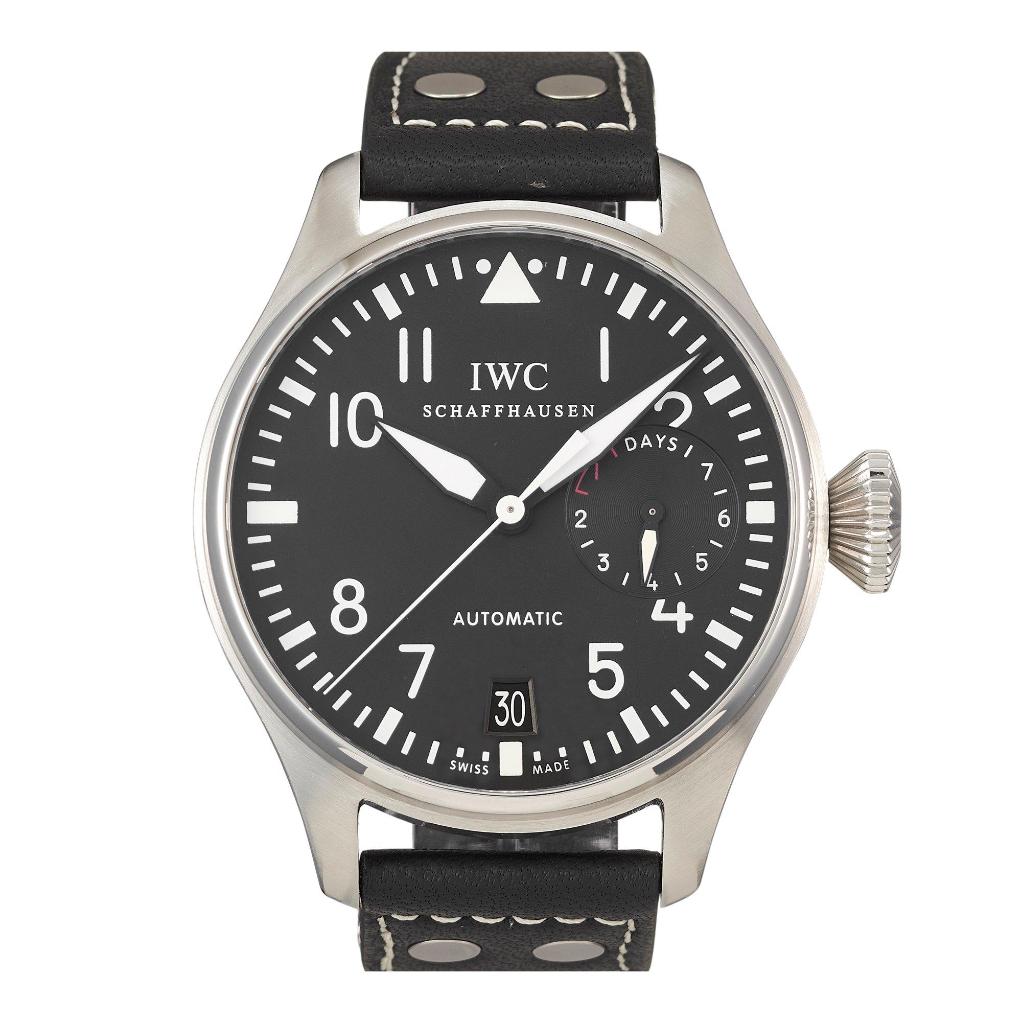 IWC Pilot's Watch Big Pilot Stainless Steel IW5004