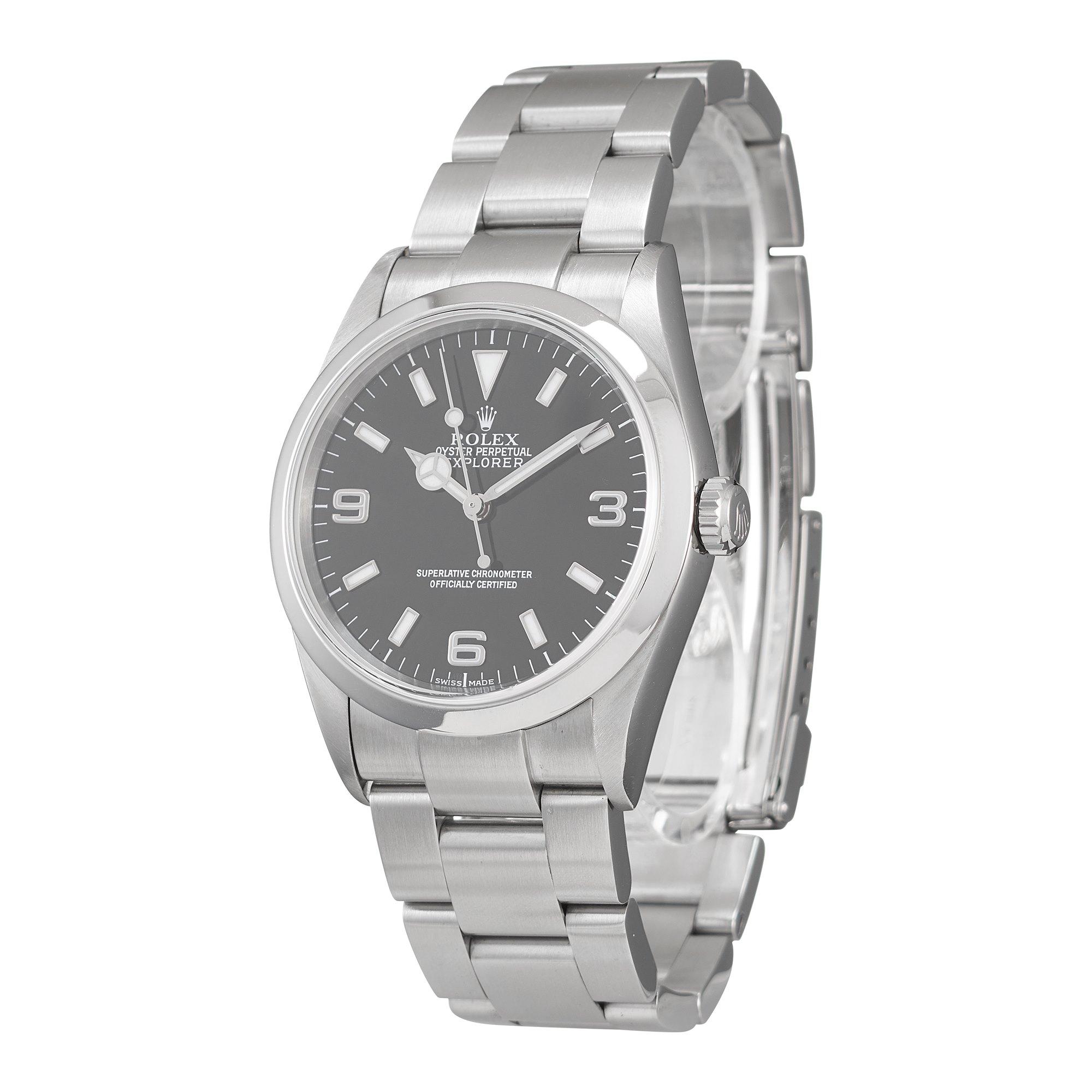 Rolex Explorer I Stainless Steel 114270