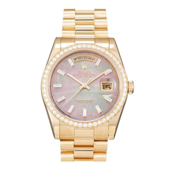 Rolex Day-Date Yellow Gold - 118348
