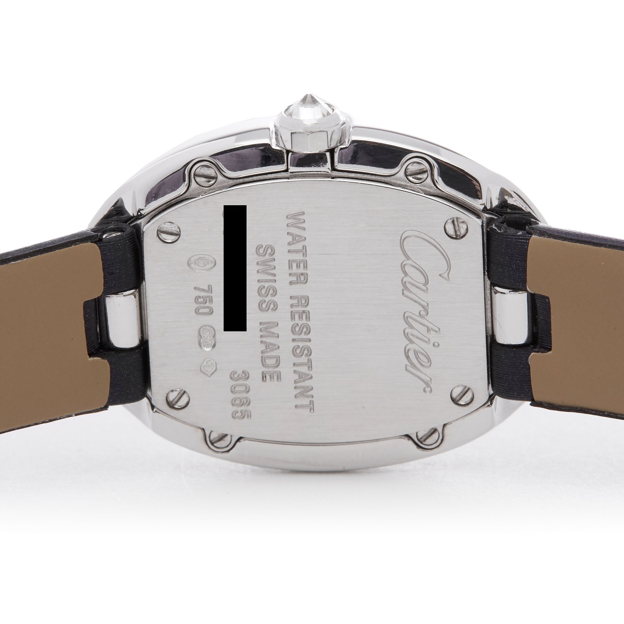 Cartier Baignoire Diamond 18K White Gold 3065