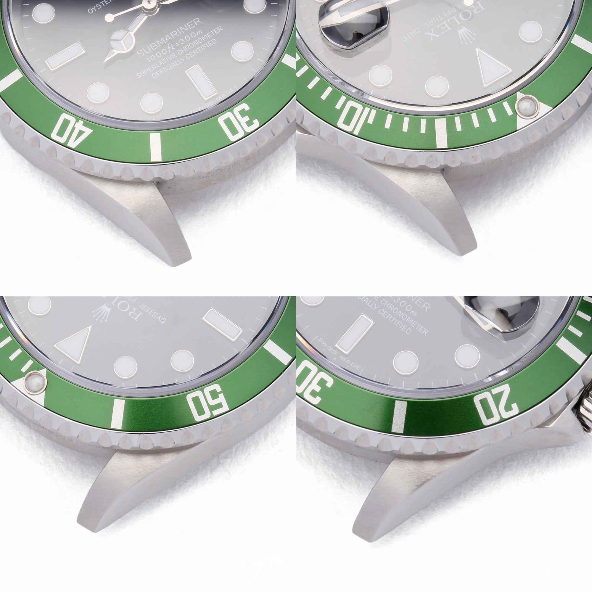 Rolex Submariner Date Kermit Roestvrij Staal 16610LV
