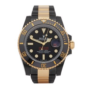 Rolex  Date Dlc Stainless Steel & Yellow Gold