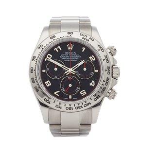 Rolex Daytona Chronograph 18K White Gold - 116509