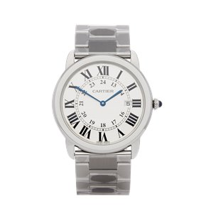 Cartier Ronde Stainless Steel - 3603