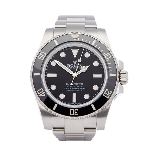 Rolex Submariner No Date Stainless Steel - 114060