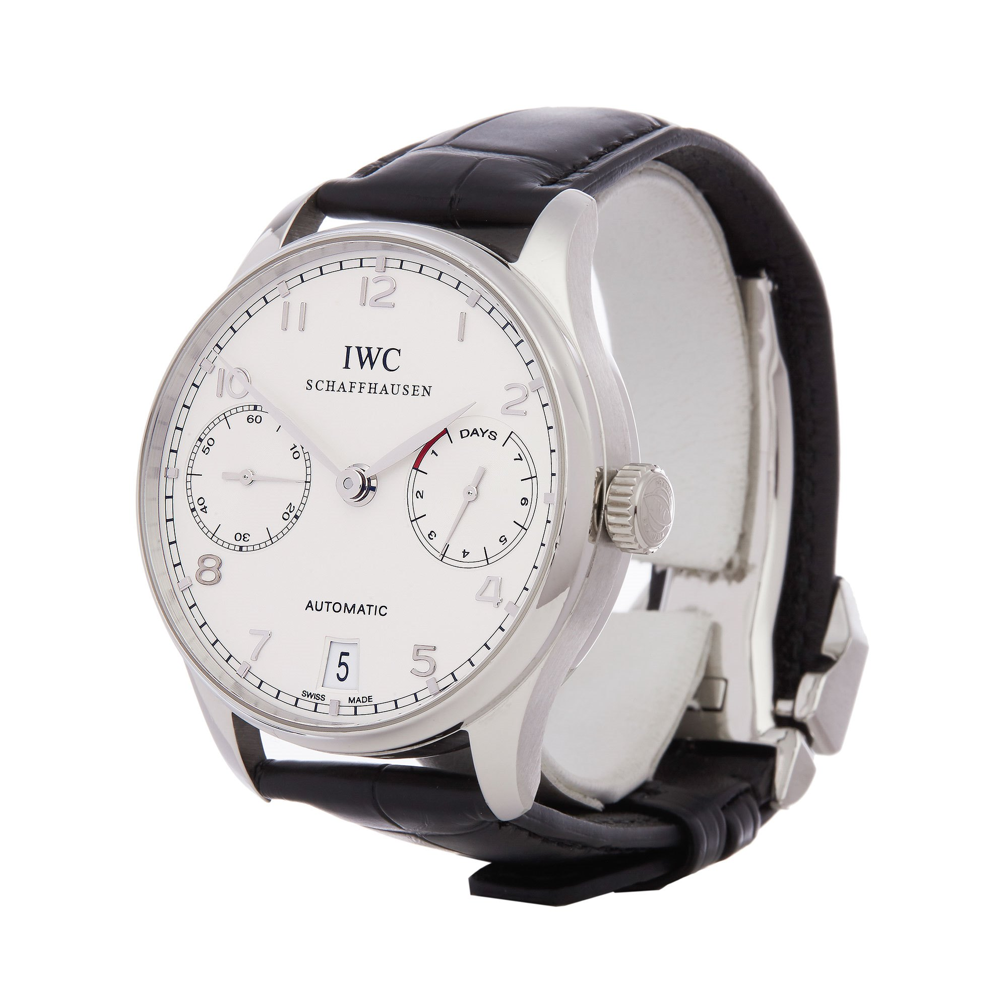IWC Portuguese 7 Day - Limited Edition of 500 Pieces Platinum IW500104