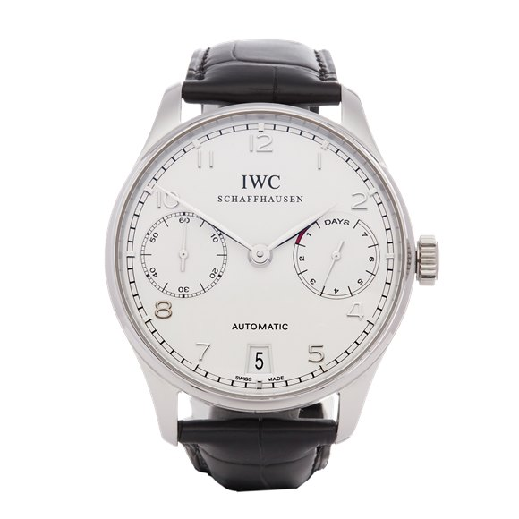 IWC Portuguese 7 Day - Limited Edition of 500 Pieces Platinum - IW500104