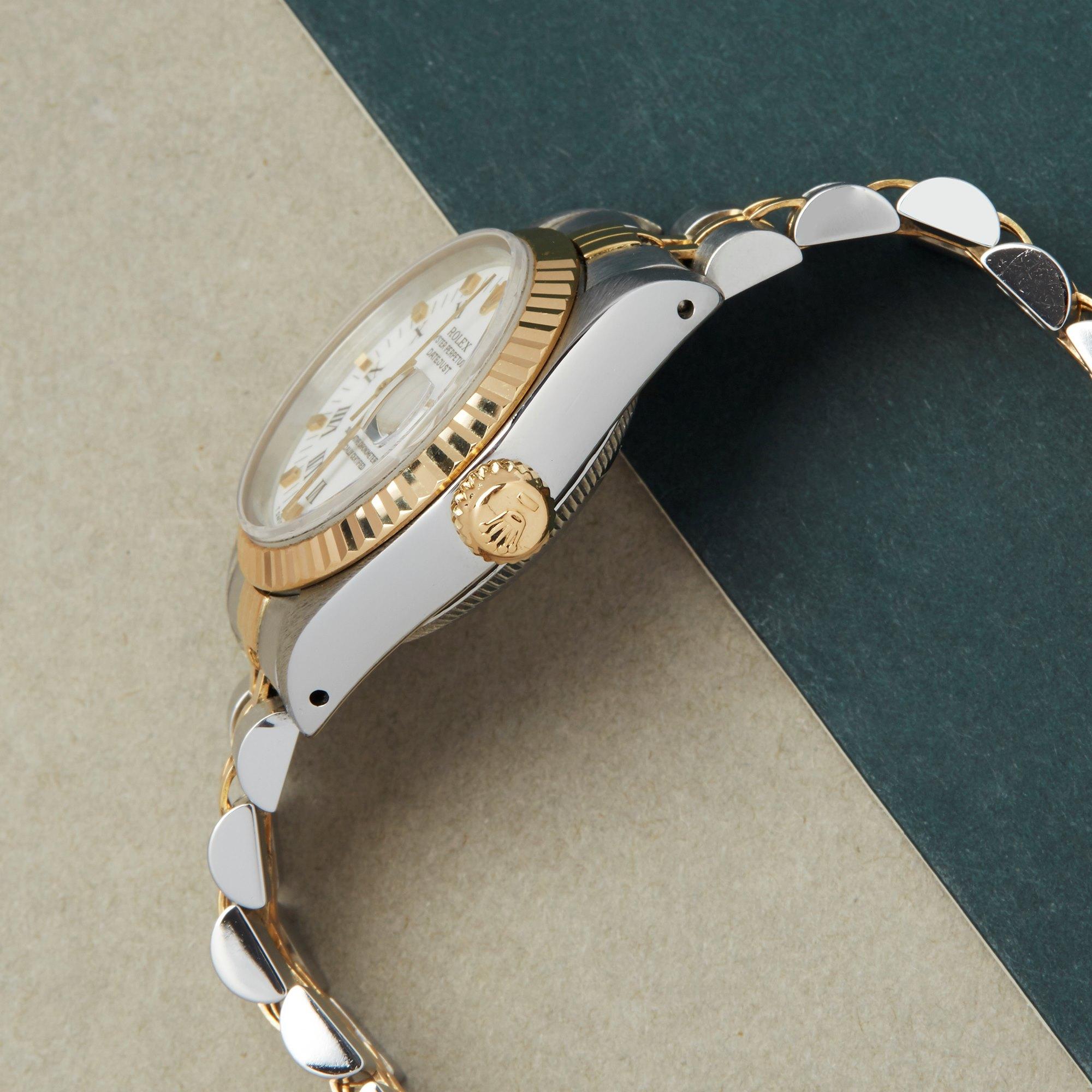 Rolex Datejust 26 Roestvrij Staal & Geel Goud 69173