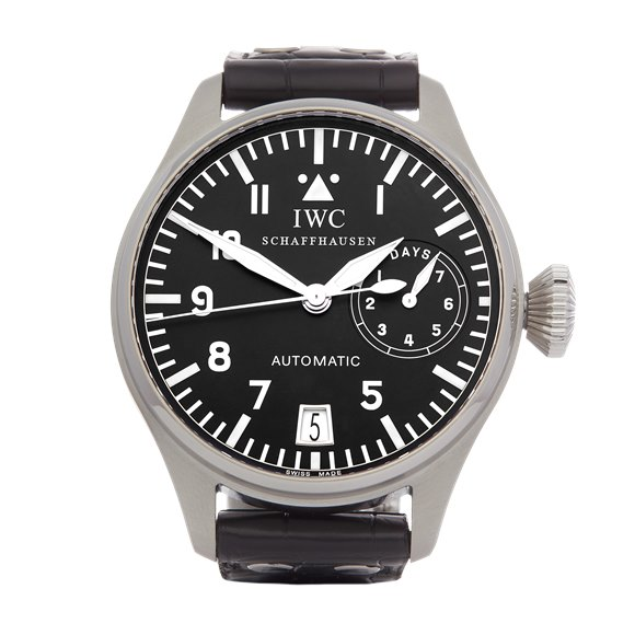 IWC Big Pilot's 7 Day Stainless Steel - IW500201