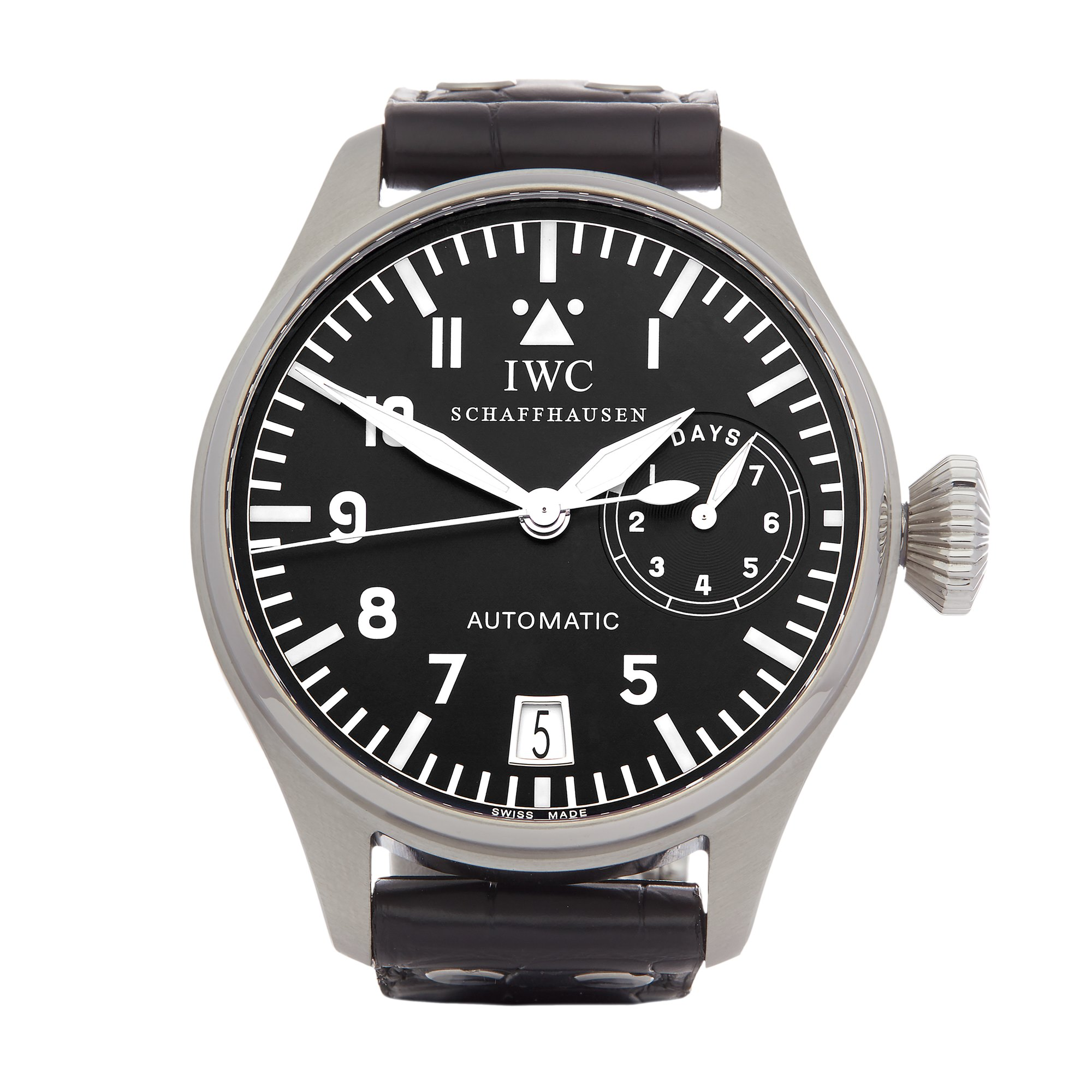 IWC Big Pilot's 7 Day Stainless Steel IW500201