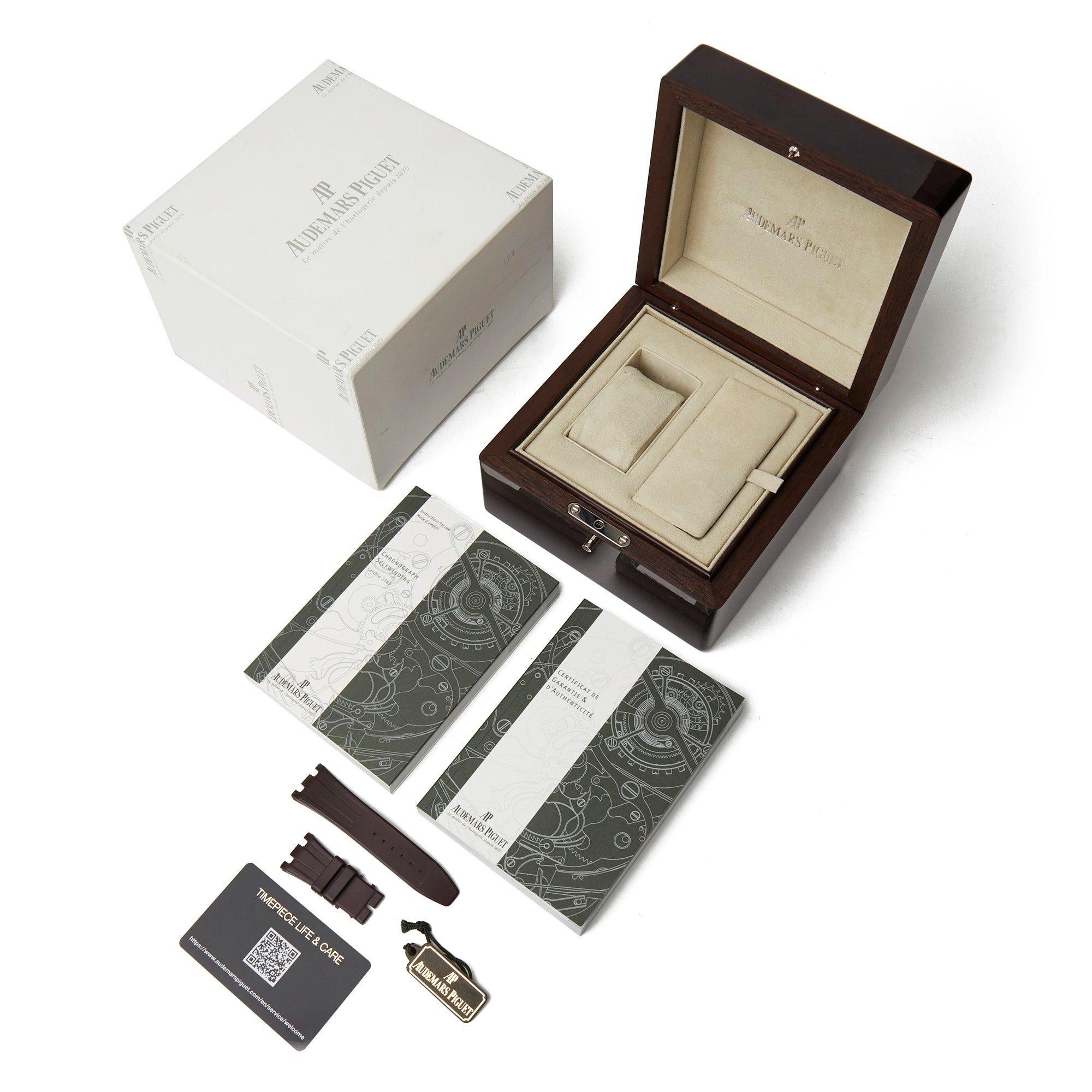 Audemars Piguet Royal Oak Offshore Diamond Chronograph Stainless Steel 26048SK.ZZ.D066CA.01