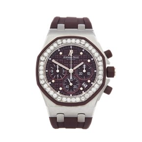 Audemars Piguet Royal Oak Offshore Diamond Chronograph Stainless Steel - 26048SK.ZZ.D066CA.01