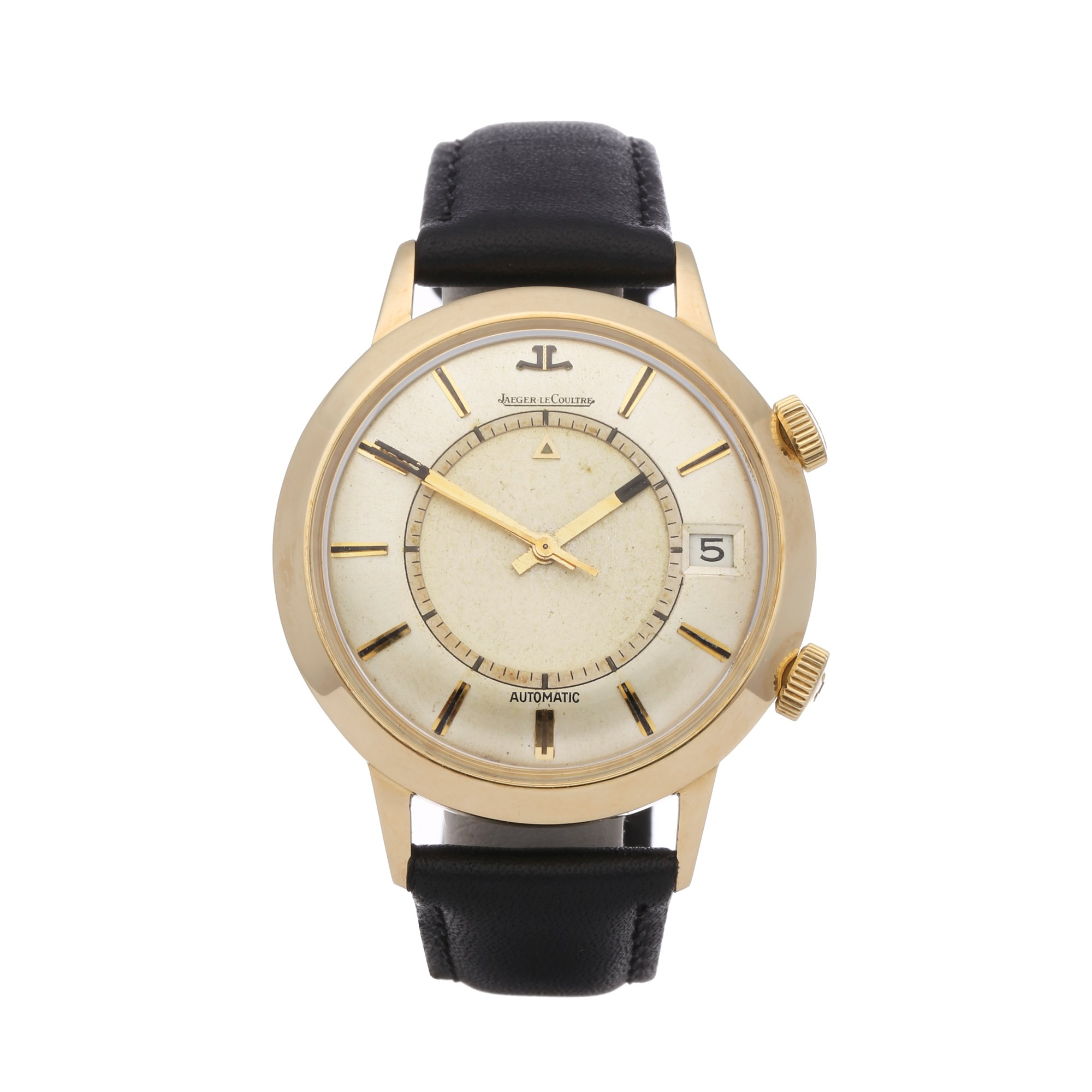 Jaeger-LeCoultre Memovox Gold Plated 34290
