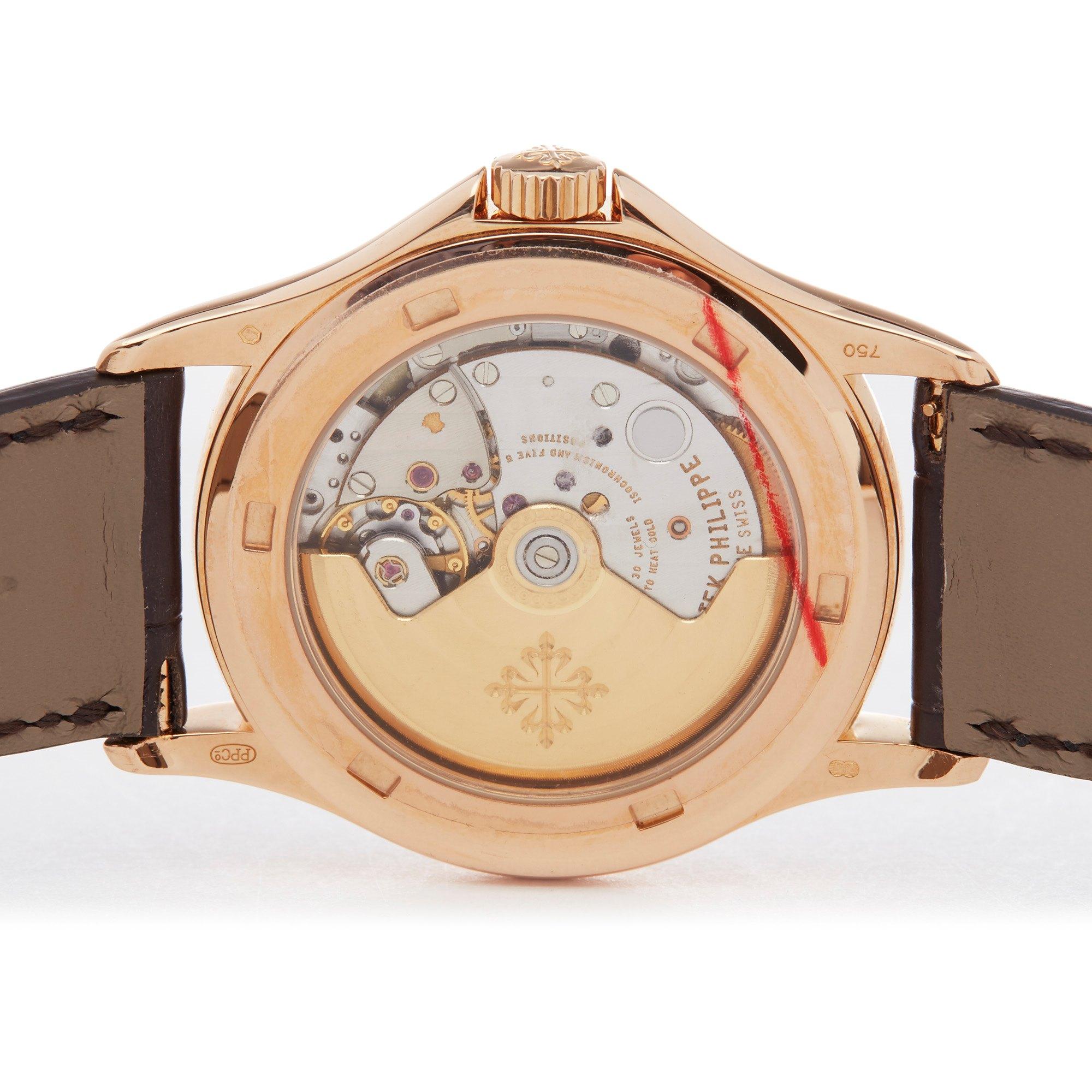 Patek Philippe Calatrava Rose Gold 5117R-001