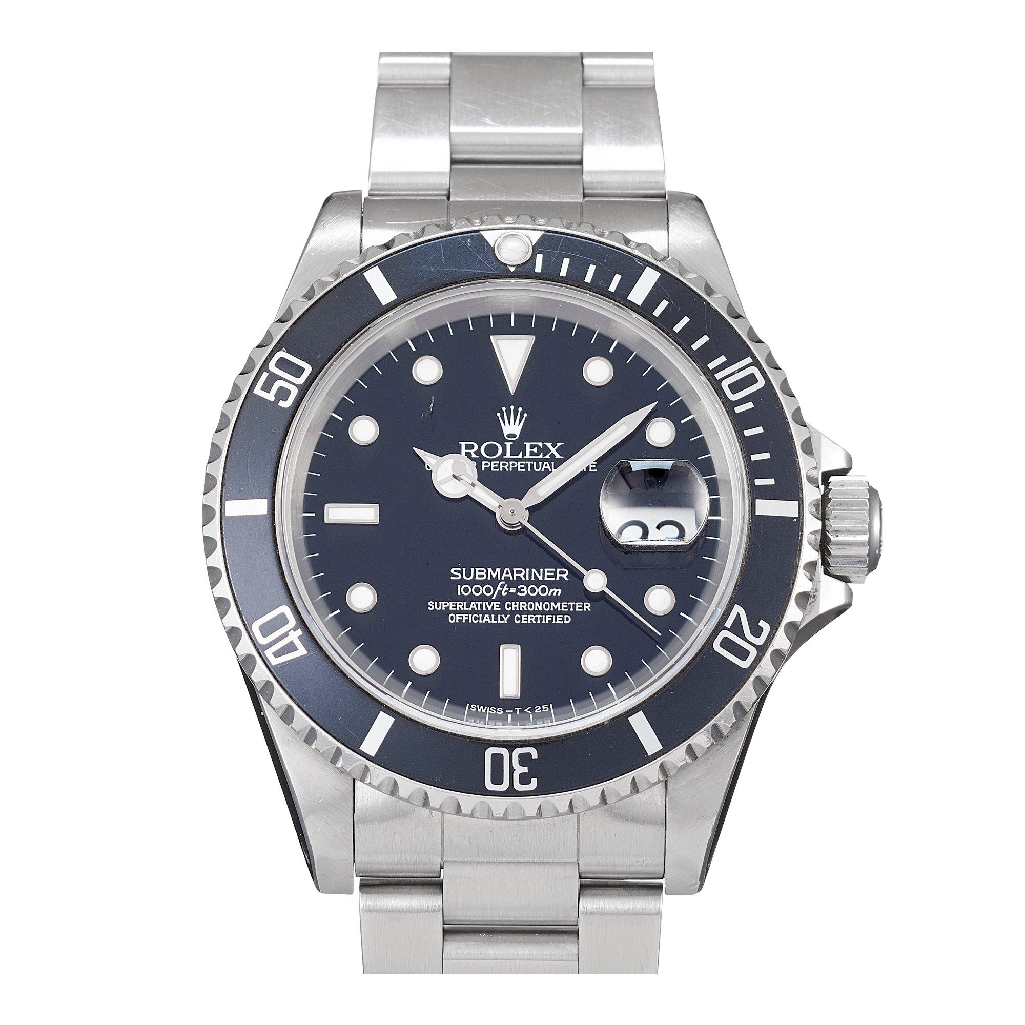 Rolex Submariner Date Stainless Steel 16610