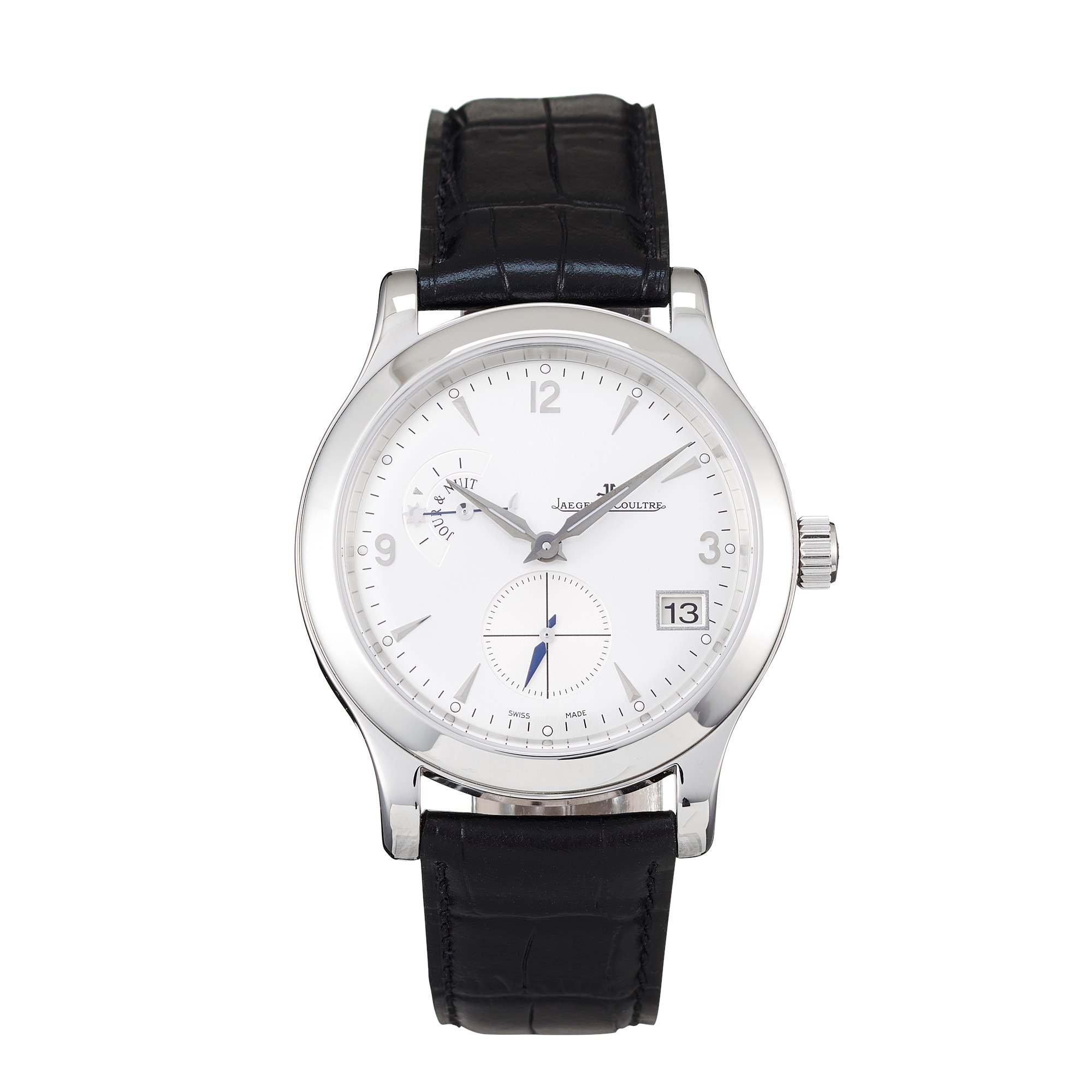Jaeger-LeCoultre Master Control Hometime Stainless Steel 1628420
