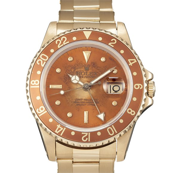 Rolex GMT-Master II Yellow Gold - 16758