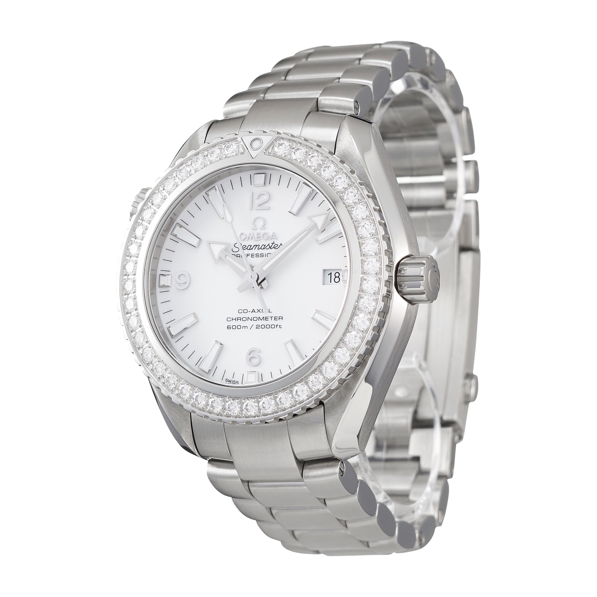 Omega Seamaster Planet Ocean 600M Roestvrij Staal 232.15.42.21.04.001