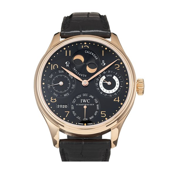 IWC Portugieser Perpetual Calender Yellow Gold - IW502119