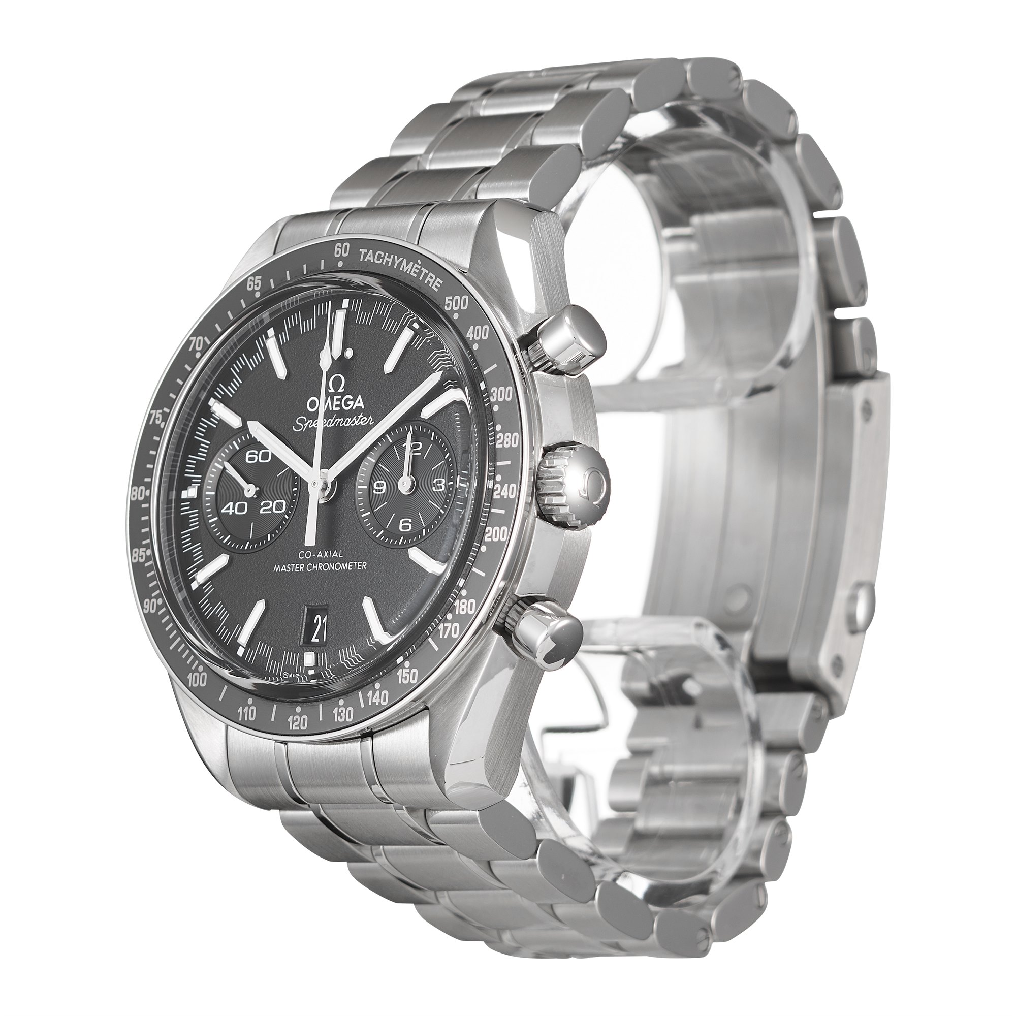 Omega Speedmaster Racing Co-Axial Master Chronograph Stainless Steel 329.33.44.51.01.001