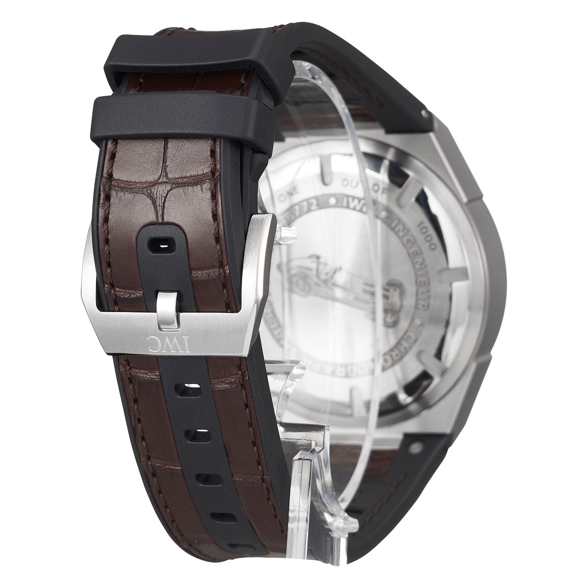 IWC Ingenieur Chronograph Silberpfeil Stainless Steel IW378511