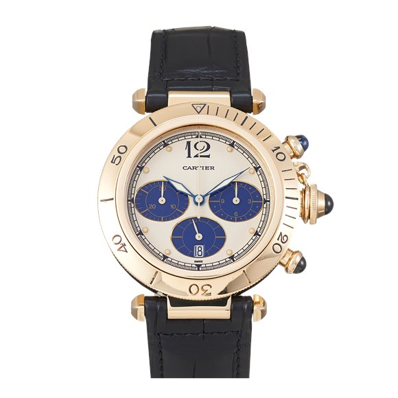 Cartier Pasha 38 Chronograph Yellow Gold - W3000951