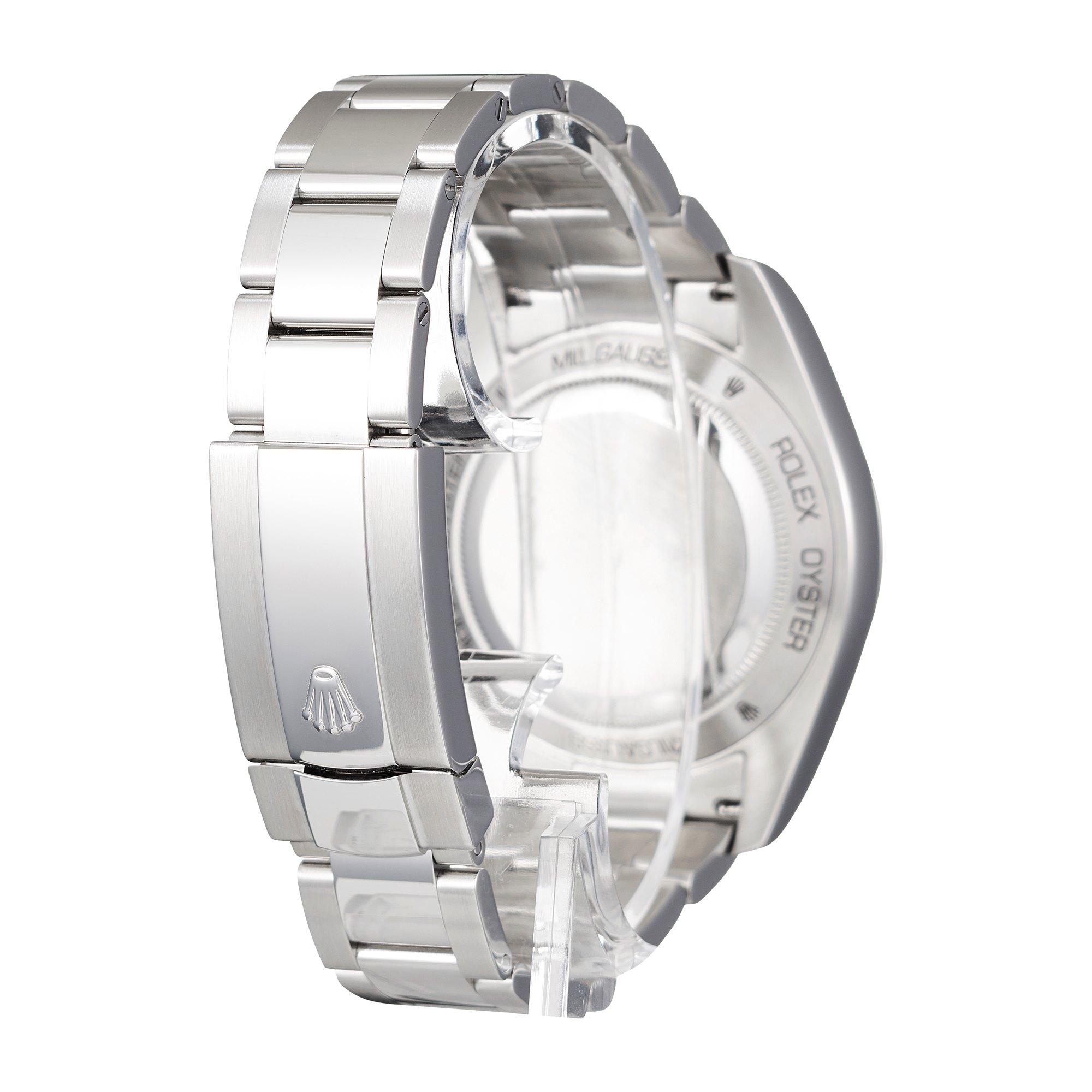 Rolex Milgauss Stainless Steel 116400GV