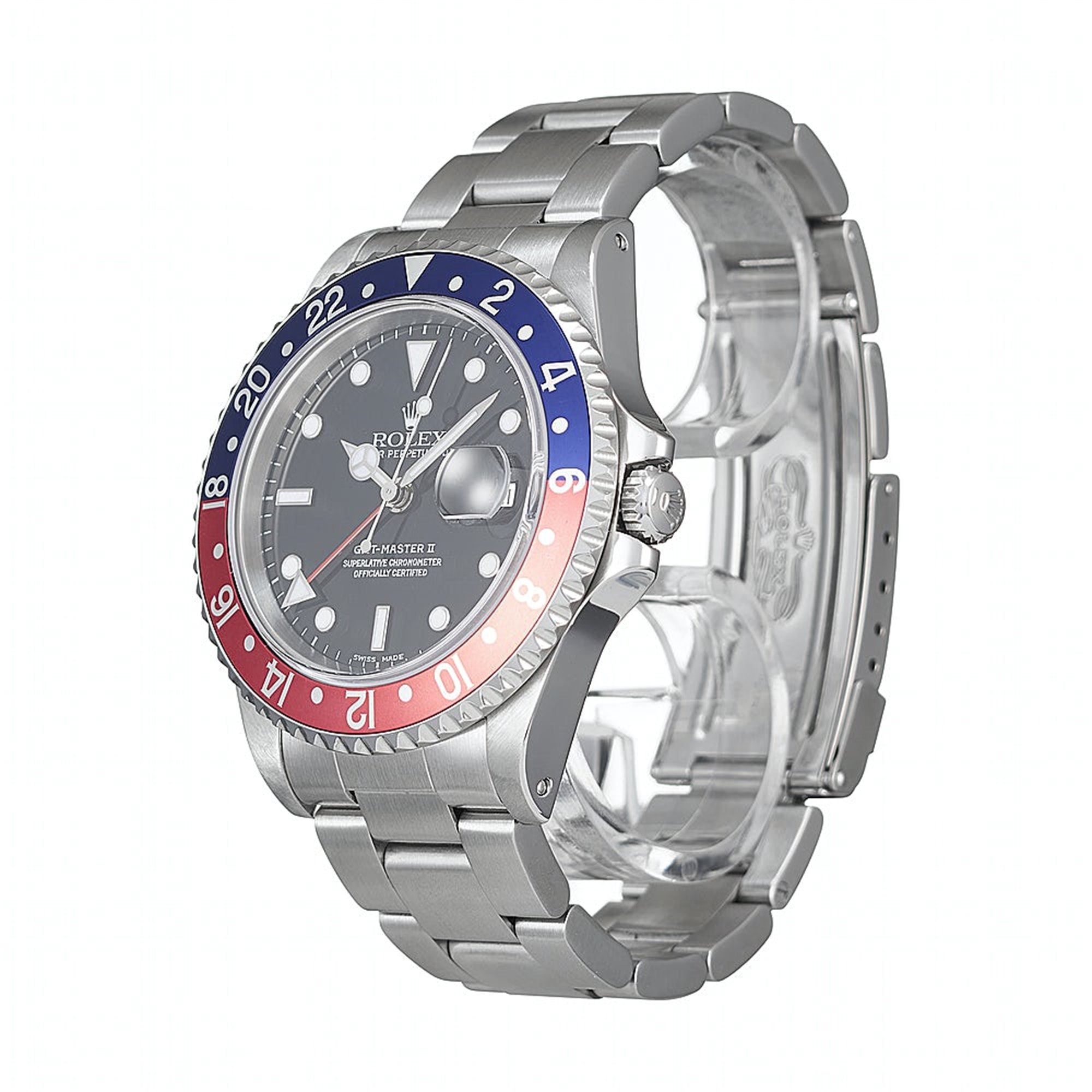 Rolex GMT-Master II Stainless Steel 16710