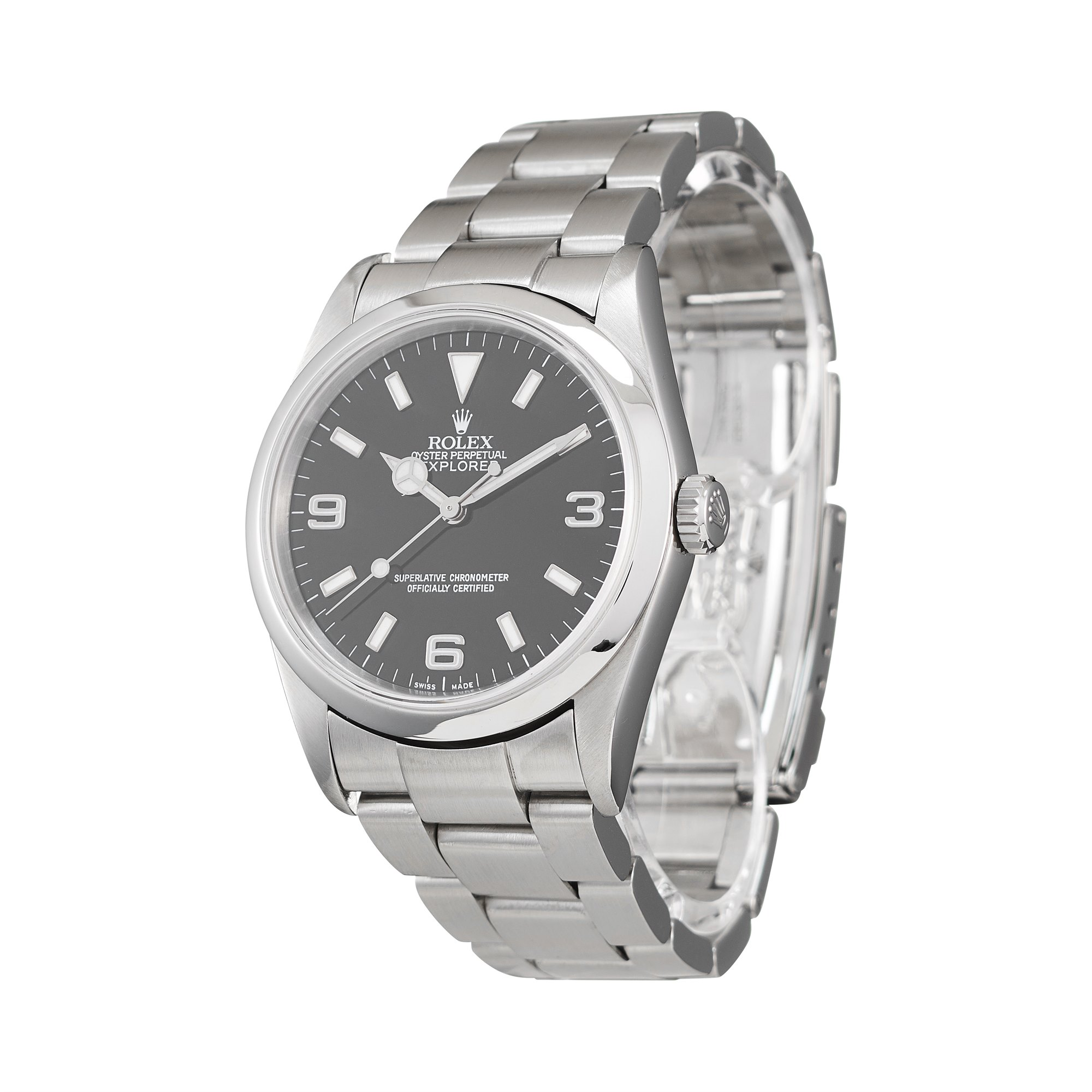Rolex Explorer I Stainless Steel 114270