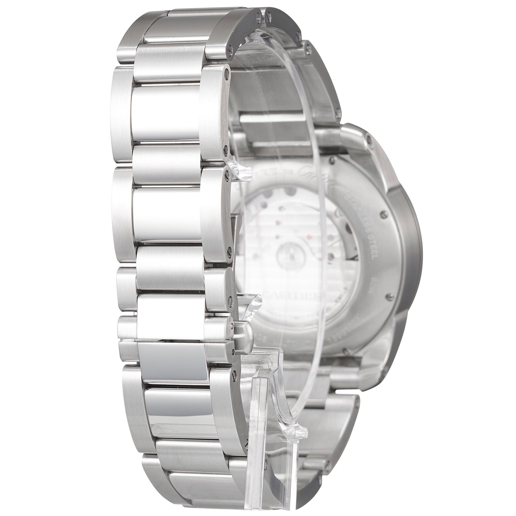 Cartier Calibre Chronograaf Roestvrij Staal W7100061