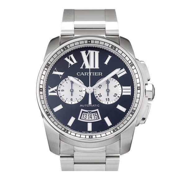Cartier Calibre Chronograph Stainless Steel - W7100061